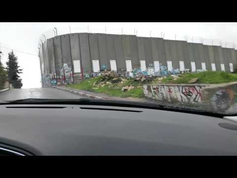 Driving the border: West Bank barrier