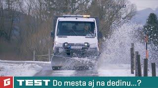Mercedes-Benz Sprinter 316 CDI 4x4 + pluh HILLTIP - TEST - GARAZ.TV