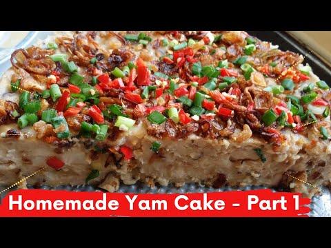 Homemade Yam Cake - Part 1
