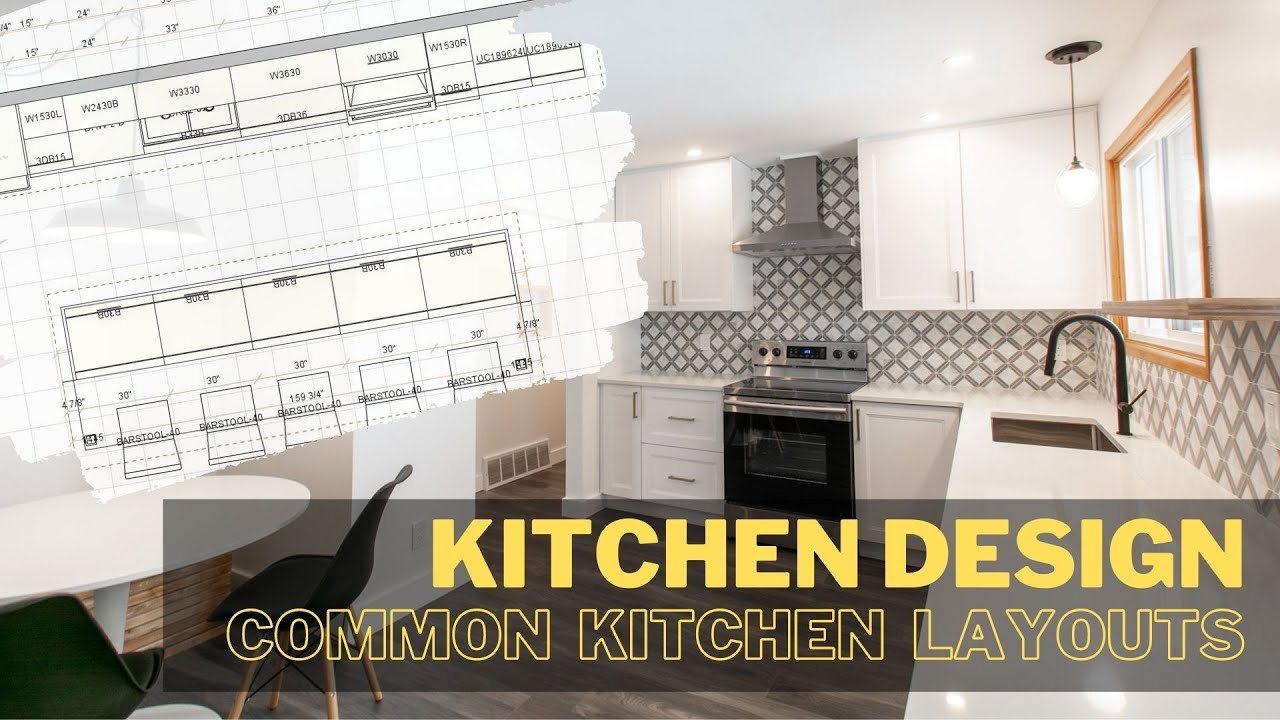 A kitchen layout design guide [Where to start]