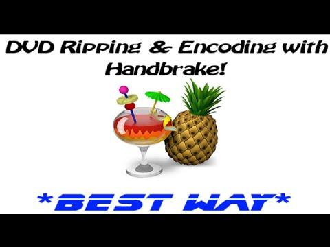Setup Handbrake for DVD Ripping and Encoding ★BEST WAY★