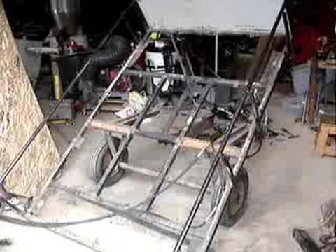 Small Hydraulic Dump Trailer