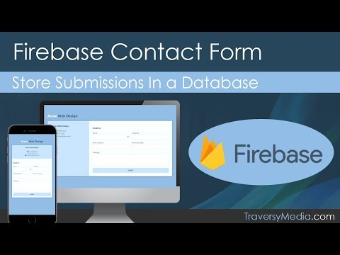 Connecting Firebase to a Contact Form