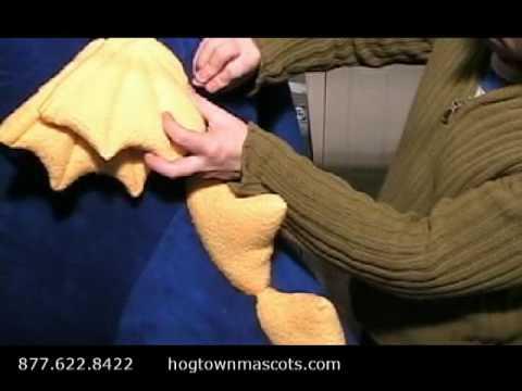 How it's made - Hogtown Mascots