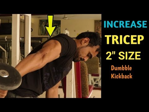 GET BIGGER TRICEPS   Increase Size With 1 Simple Exercise