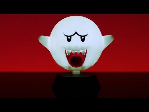 Super Mario Boo Icon Light | Paladone