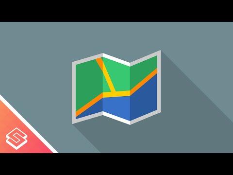 Inkscape Tutorial: Vector Map Icon