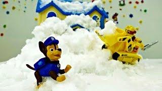 Einsatz für die Paw Patrol - Skyes Haus wurde eingeschneit - Wohin mit all dem Schnee?