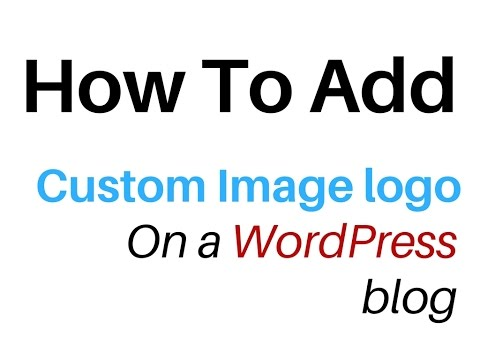 WordPress | How To Insert Custom Image Logo On A header.php WPBblog