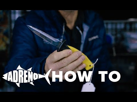 How to Choose A Dive Knife | ADRENO