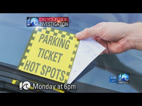 Special Report: Parking ticket Hot Spots