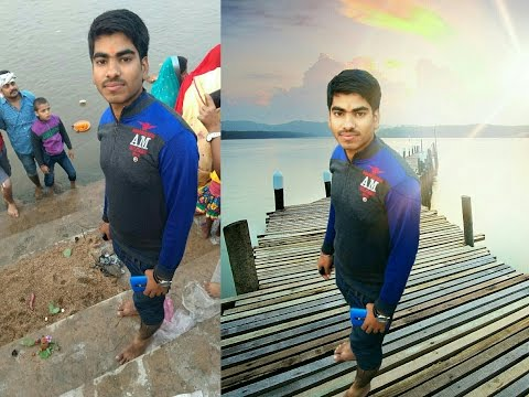 How to change background image in Picsart