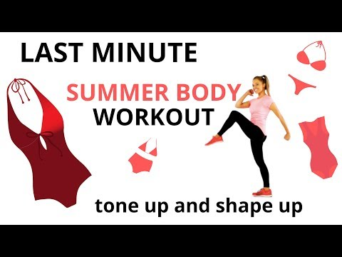 7 Day Get In Shape Home Workout Challenge - 7 Minute Weight Loss Workout & Total Body Toning Routine