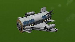 KSP - Modular Airplane Concept Solo Module Test