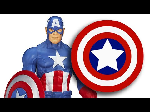 Captain America Toy Review ~ Avengers ~ Disney