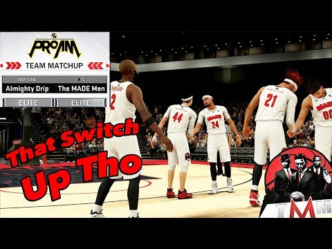 Kept Switching The Attack | NBA 2K18 Pro AM | He Don't Know Me