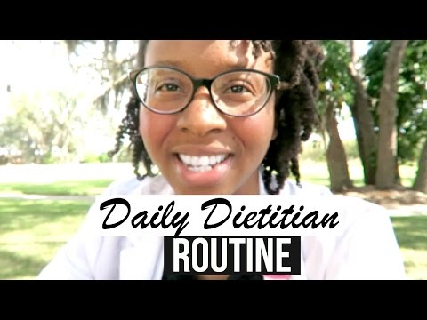 MY REALISTIC DAILY DIETITIAN ROUTINE