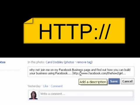 Add clickable links to your facebook banner images