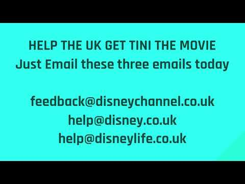 Email: feedback@disneychannel.co.uk to get TINI THE MOVIE TO RELEASE IN THE UK!