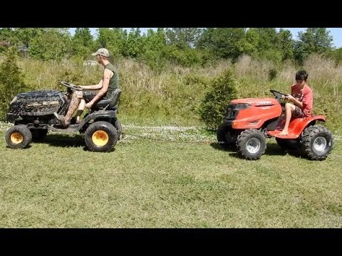 A Mud Ride with New Mowers