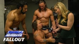 Horns vs. Hornswoggle - SmackDown Fallout - April 18, 2014