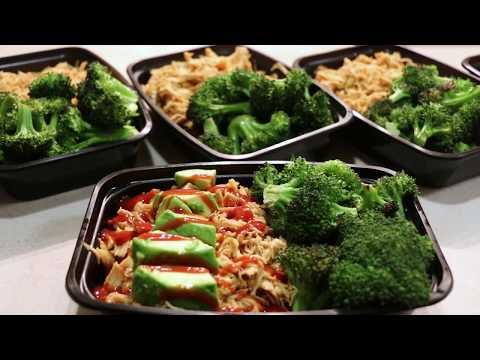 Easy Cutting Meal Prep - BBQ Shredded Chicken - Fat Burning Meal Prep