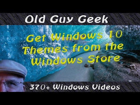 Download Free Windows Themes In the Windows Store