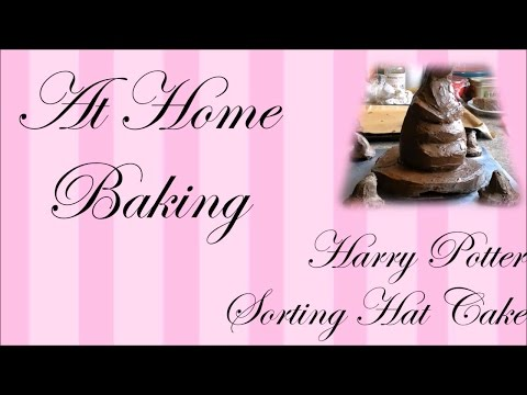harry potter sorting hat cake