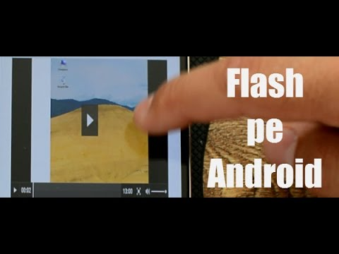 Flash Player pe Android 5 Lollipop