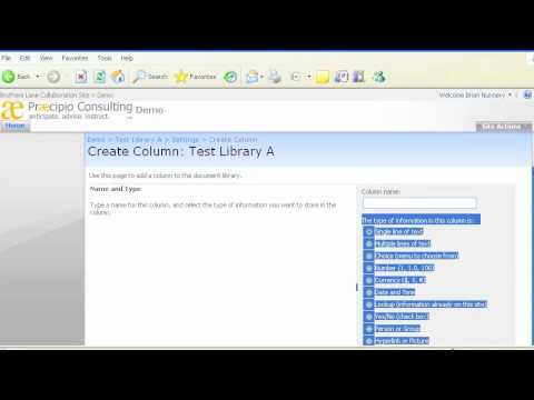 How to Customize a SharePoint Document Library