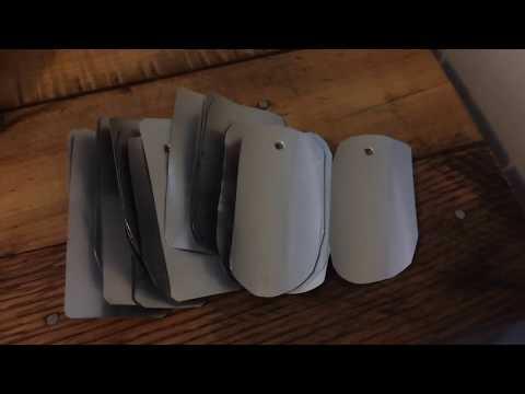 Aluminum Tags - Permanent Tree Marking
