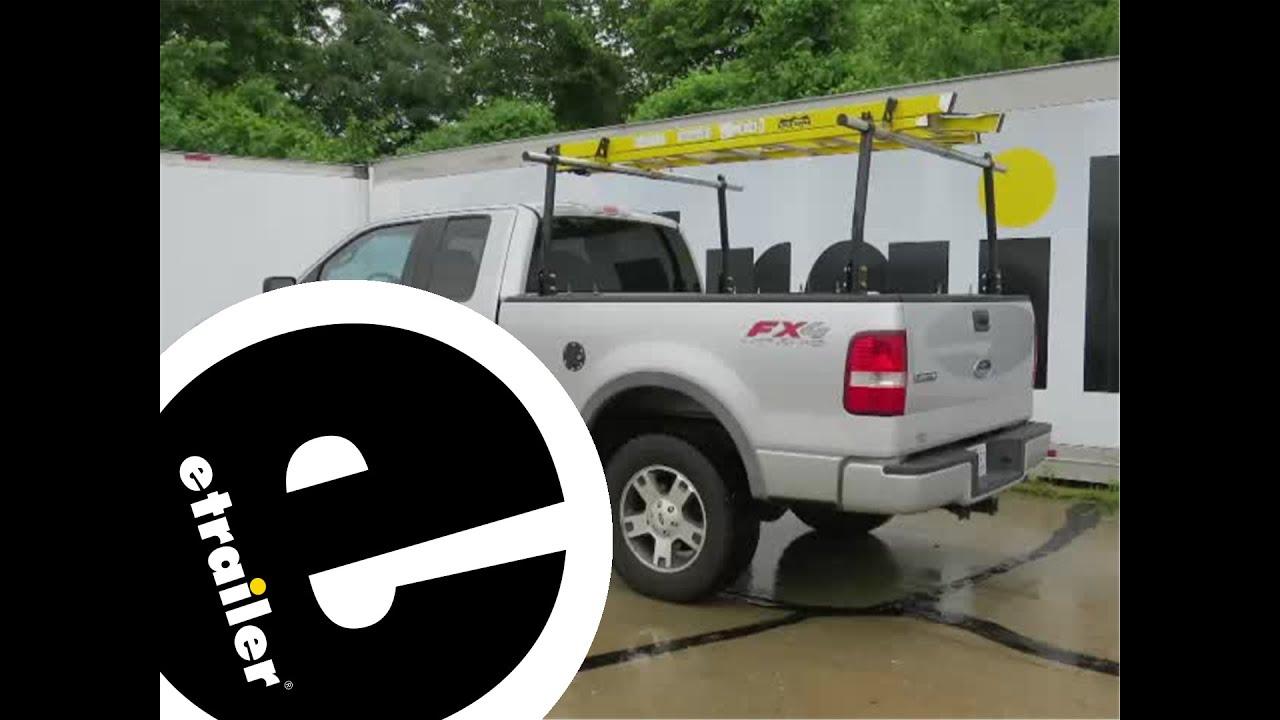 etrailer   Erickson Truck Bed Ladder Rack Review