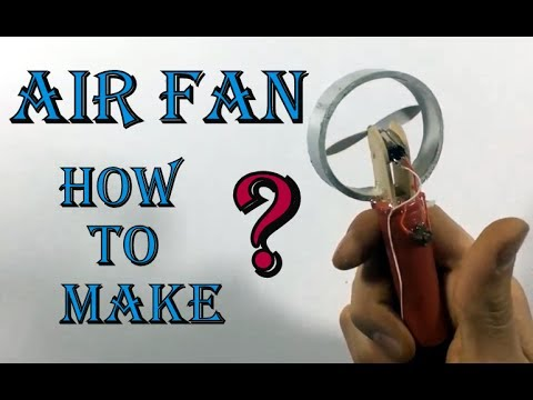 Summer Life Hack ? Air Fan How To Make ?