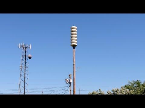 AHAB Tsunami Siren Routine Test- Long Beach, WA- May 2, 2016- 12:00PM PDT