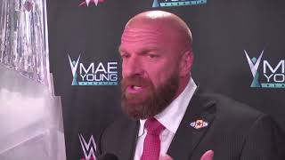 Triple H: Mae Young Classic was