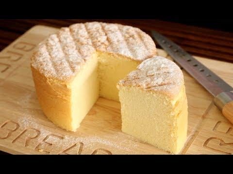 Cotton Soft Sponge Cake Recipe | Super Soft and Fluffy Butter Sponge Cake | 棉花蛋糕入口即化 ● 燙麵法 +水浴法