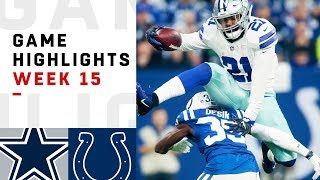Cowboys vs. Colts Week 15 Highlights | NFL 2018