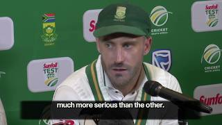 Australia ball tampering offence worse than ball shining - Faf du Plessis