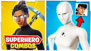 5 New TRYHARD Superhero COMBOS of 2021 | Fortnite