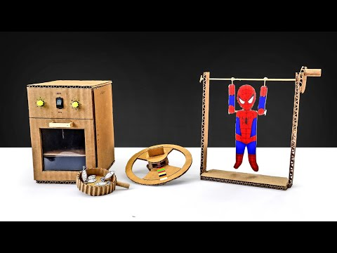 3 Awesome Cardboard Toys You Can Make At Home || DIY Toys For Kids