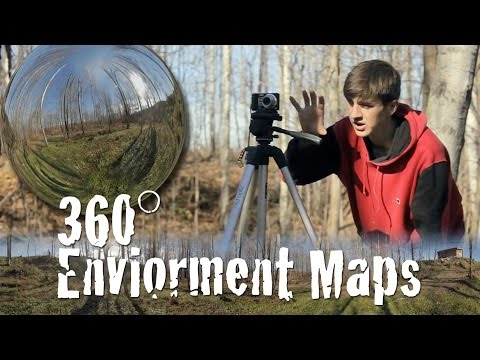 DIY Cheap and Easy 360° Panorama Environment Maps!