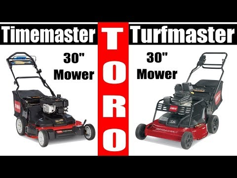 Is the Toro Timemaster worth the Money? ...over The Turfmaster?