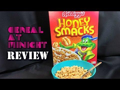 Kellogg's Honey Smacks Cereal Review! Do We Dig 'Em?