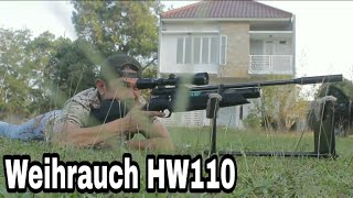 REVIEW: Weihrauch HW110 - Ballistic Polymer Airgun