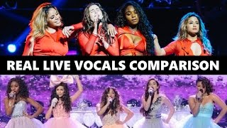 New Fifth Harmony vs. Old Fifth Harmony (Real Live Vocals Comparison)