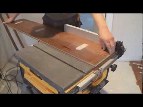 Stairs installation: How To Installing Prefinished Stair Treads DIY Mryoucandoityourself