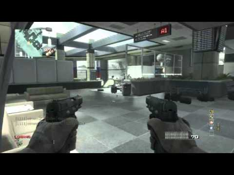 MW3- 1 vs 17 Infected Domination