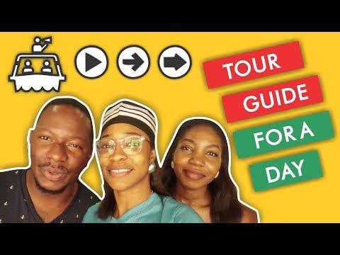 TOUR GUIDE FOR A DAY   Lagos Nigeria   Vlog 9