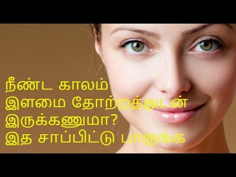 நீண்ட காலம் இளமை தோற்றத்துடன் இருக்க-Ways To Look Younger Naturally - Tamil Health Tips