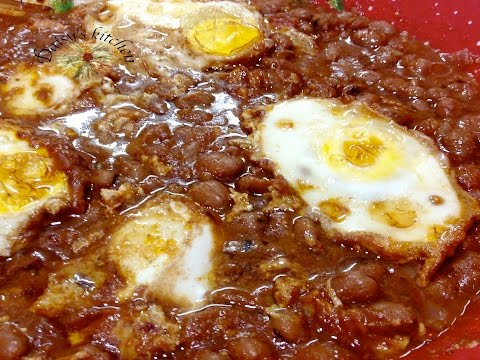 How to make Slow-Cooked Fava Beans & Eggs